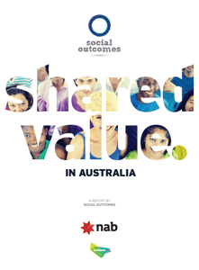 Shared Value Report - Cover
